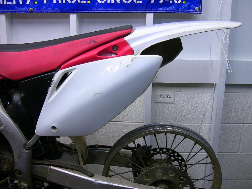 2006 honda crf450r dirt bike build